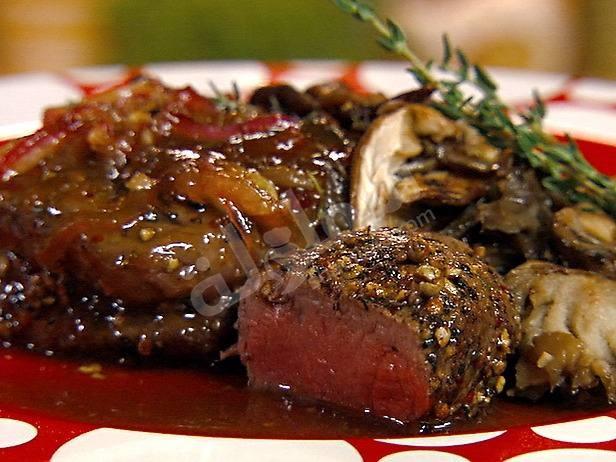 طريقة عمل شرائح اللحم بالبصل