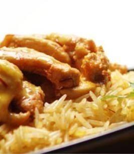 الأرز البخاري السعودي