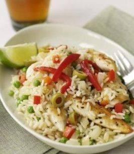 أرز بالخضار بالطريقة الأسبانية