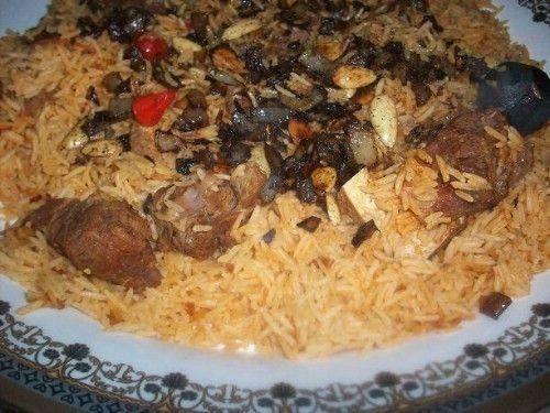 كبسة اللحم السعودي