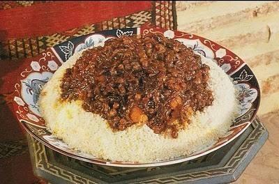 مدفونة اللحم المغربية