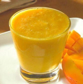 عصير المانجو بالزبادي