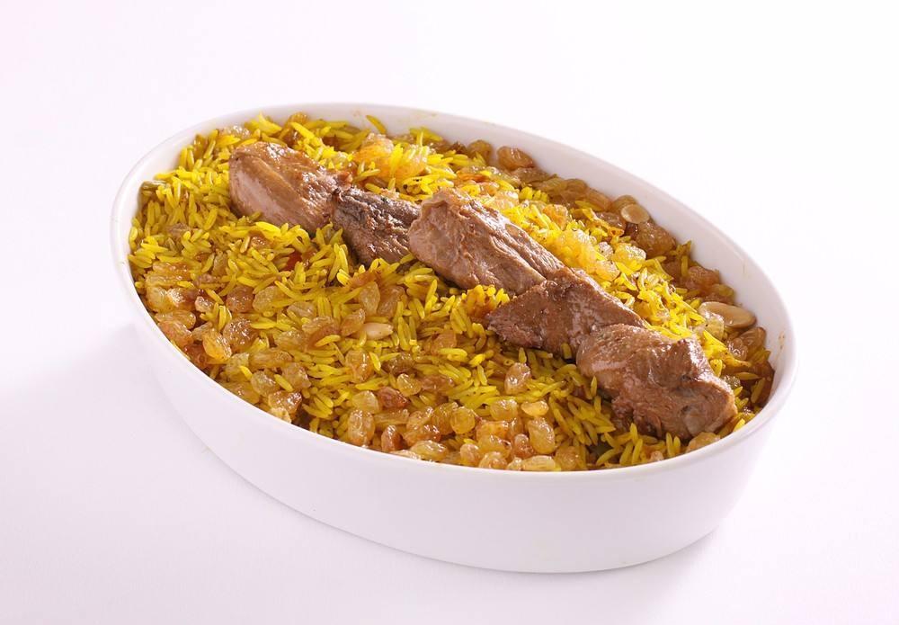 طريقة عمل أرز بخاري باللحم