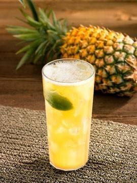 عصير الأناناس باللوز