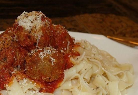 كرات اللحم الإيطالي