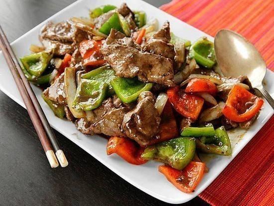 شرائح اللحم الصيني