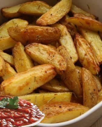 بطاطس مقرمشة