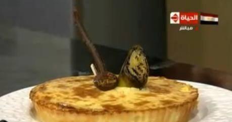 تارت الموز
