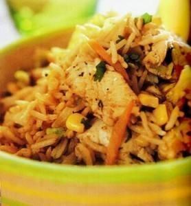 سلطة الأرز التايلندية