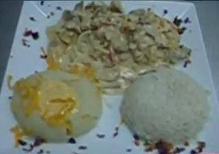 دجاج بالمشروم والجبن الشيدر على طريقة الشيف إسلام