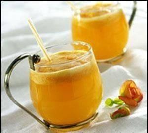 العصير المنعش بالعسل