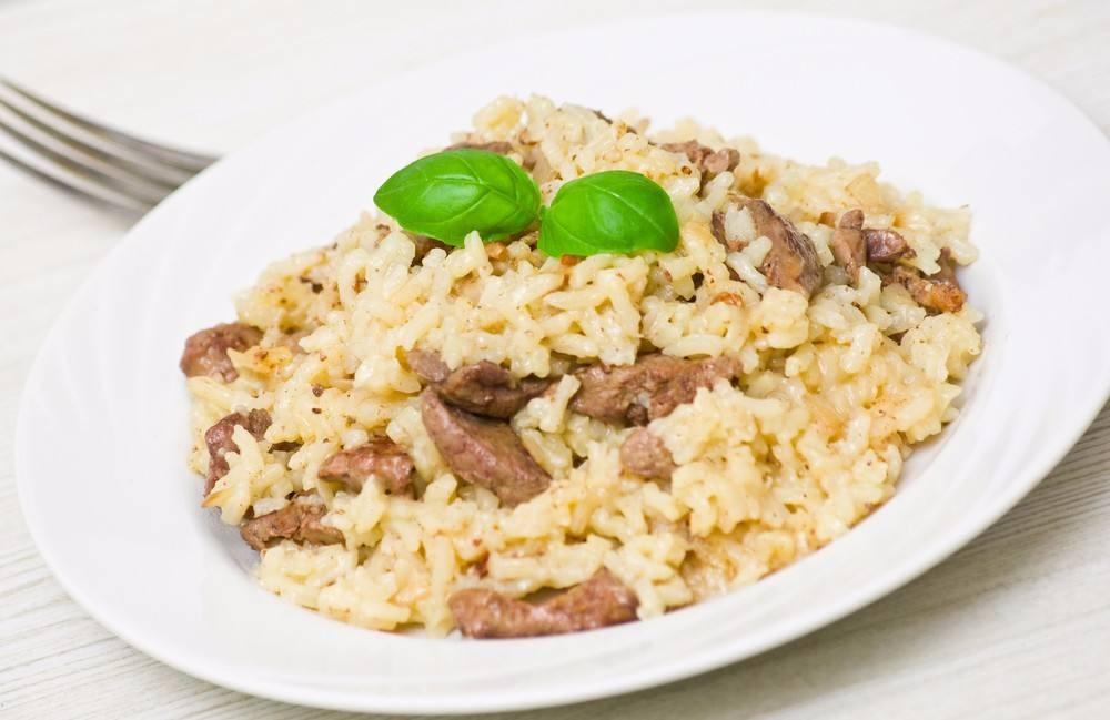 طريقة عمل أرز بالكبدة