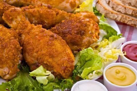 الدجاج البروستد